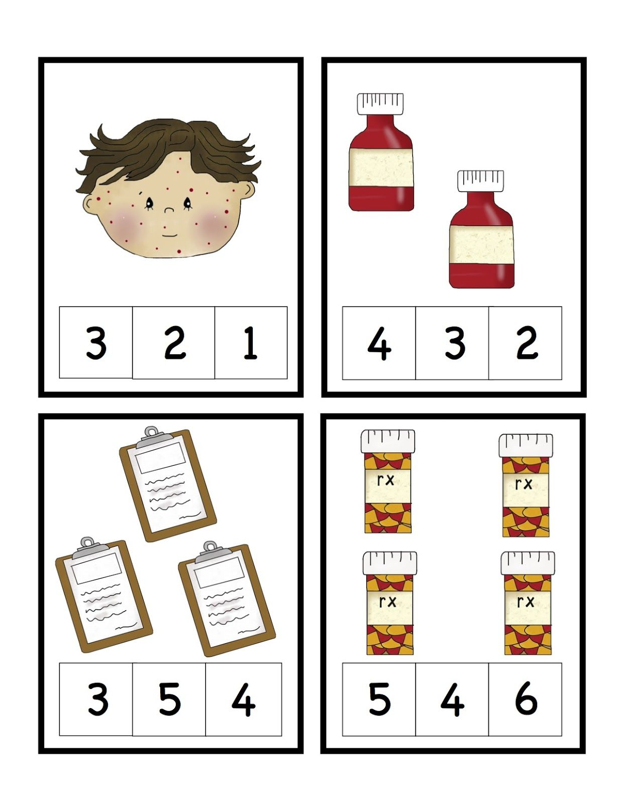 Doctors Visit Printable Community Helpers Preschool Doctor