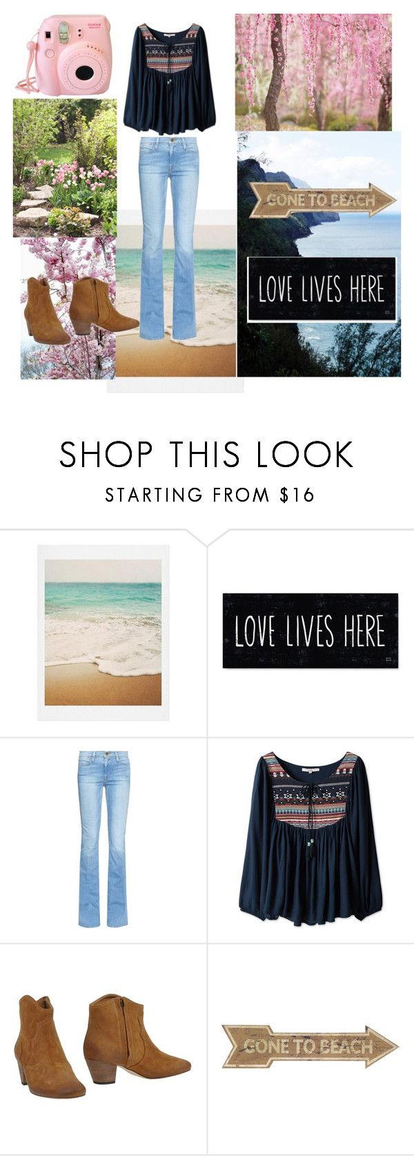 """""""Untitled #11"""" by mayafashoin ❤ liked on Polyvore featuring Dot & Bo, Frame Denim and Isabel Marant"""