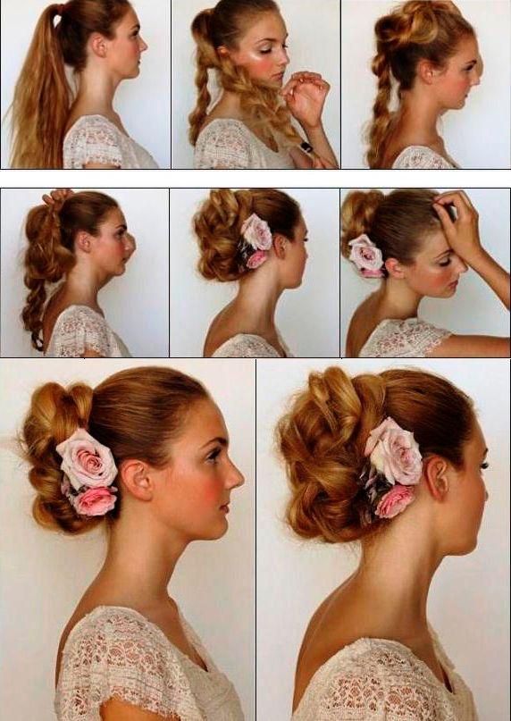 Как сделать причёски в школу на