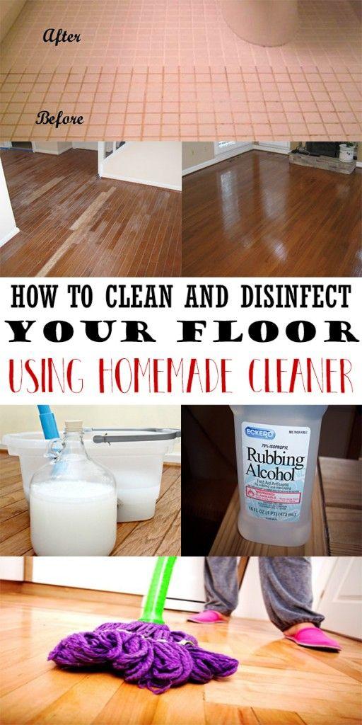 Cleaners Homemade Diy Floor Cleaner