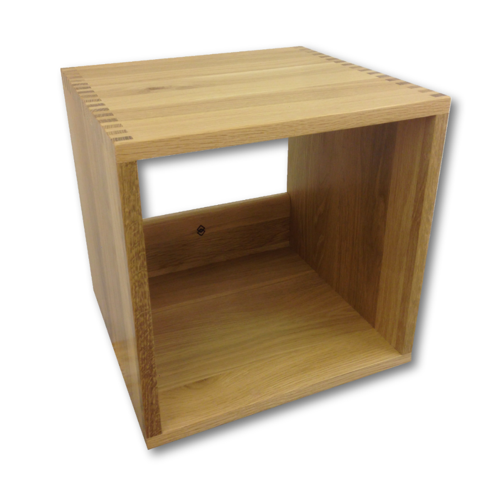 Beautiful High Quality Modular LP Storage Cubes From Jcube Storage. Oak,  Walnut And Pine