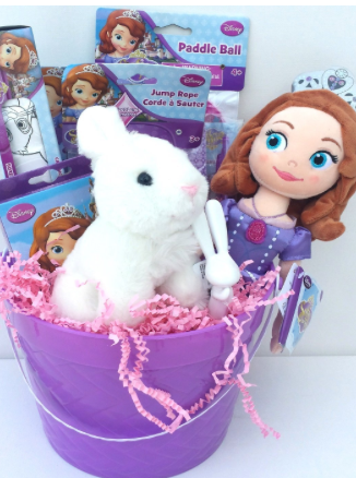 Disney junior easter basket ideas for children kids toddlers disney junior easter basket ideas for children kids toddlers girls pre filled disney jr sofia the first easter gift bucket amazon negle Gallery