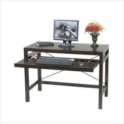 Osp Designs Hampton 42 Computer Desk In Espresso Hm125es Furniturefind Computer Desk Design Computer Desks For Home Wood Computer Desk