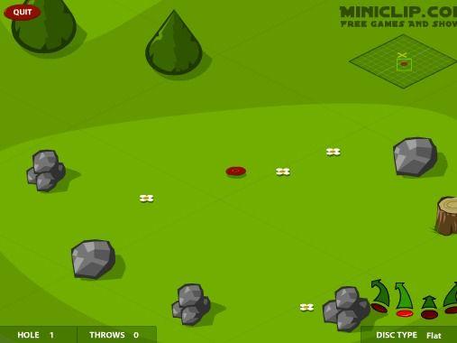 Disc Golf - http://dotgames.de/game/129.html