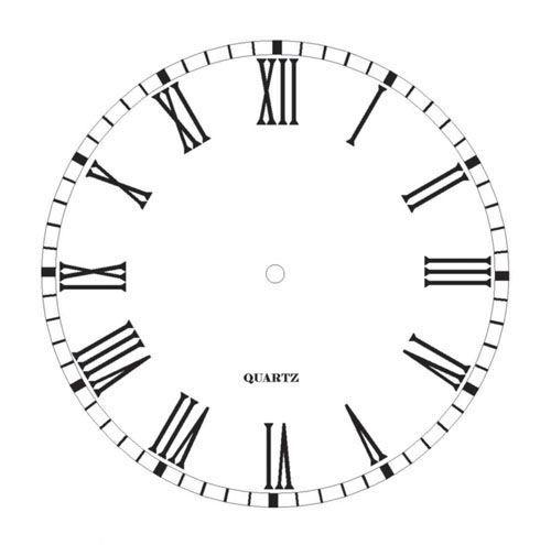 Часы с римскими цифрами картинки 2
