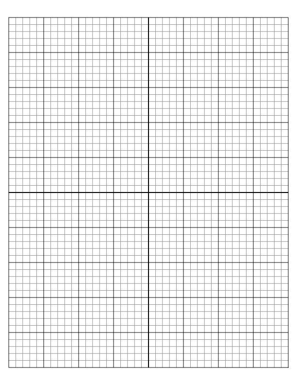 printable graph paper 4 per page