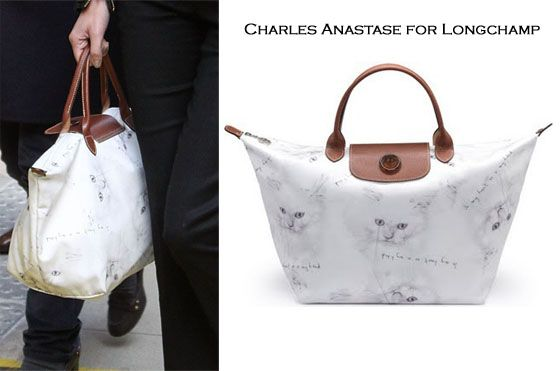 Charles Anastase for Longchamp Fancy Cats 7c7e1ffabc2db
