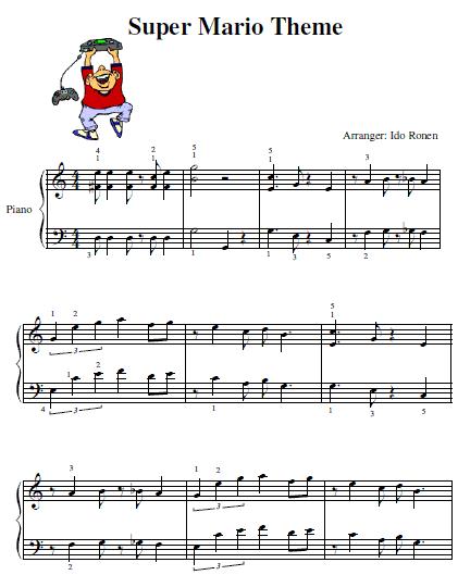 How Learning Piano Can Be Fun For Kids Free Mario Piano Sheet Music