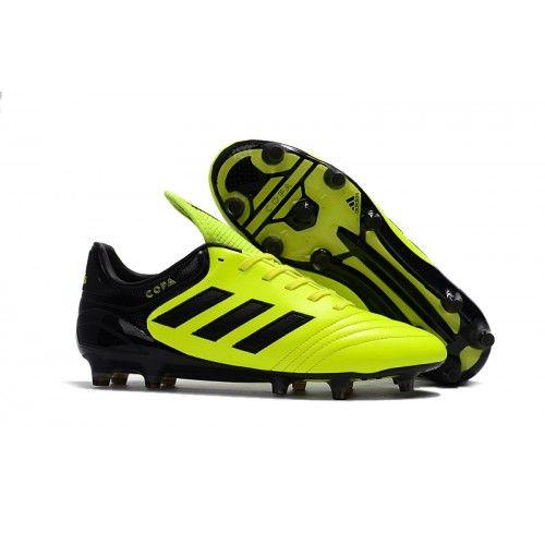 hot sale online e9fc0 a1b58 Handle for Adidas Copa 17.1 FG Fotballsko Grønn Svart, Adidas Copa Mundial  fotballsko til barn