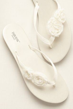 da47bab44a3cef Coordinating Colors · Davids Bridal · This versatile and comfortable flip  flop is perfect for any of your bridal events! Zoey