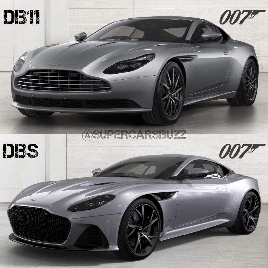 Db11 Vs Dbs Superleggera New Sports Cars Sports Car Bmw Classic Cars