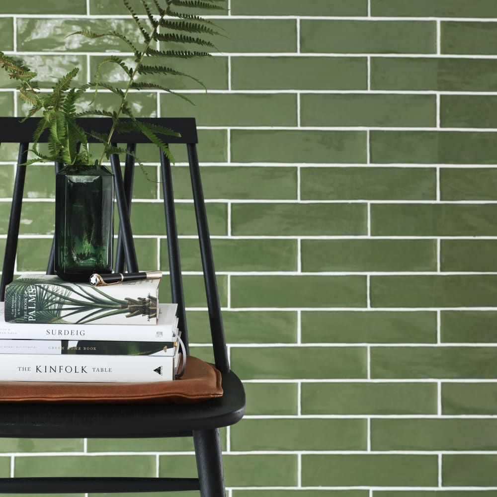 Photo of Devon Olive 7,5X30 veggflis til kjøkken og baderom