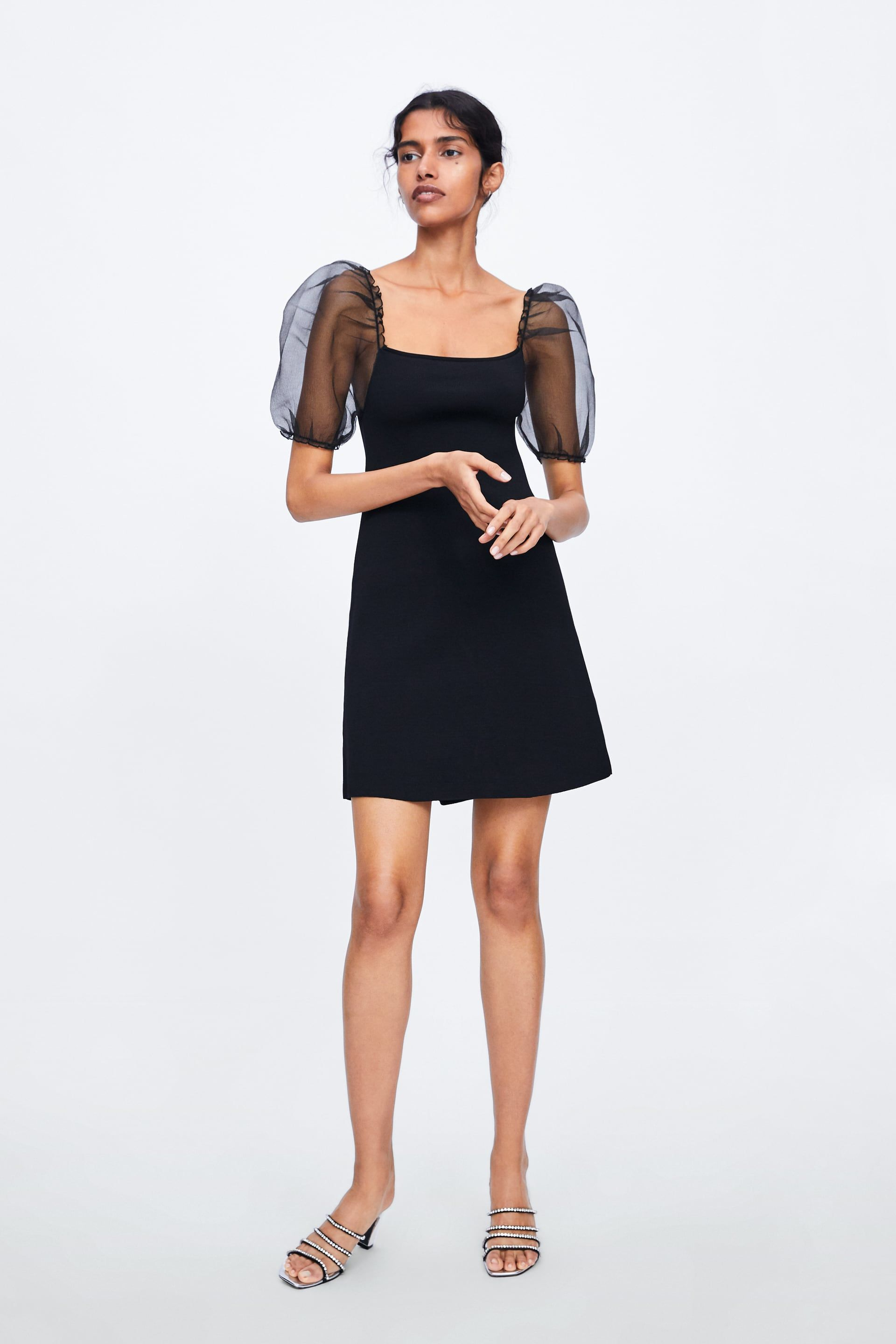 14fc8890 Balloon sleeve knit dress in 2019 | I want to wear this | Dresses ...