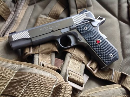 Custom Colt Delta Elite  I like the bobtail grip, I don't