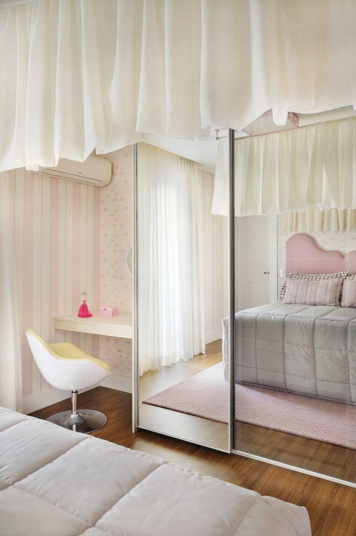 Espelho Para O Quarto 60 Ideias Incr Veis Para Uma Decora O Com  ~ Quarto Montessoriano Espelho E Quarto Feminino Vermelho