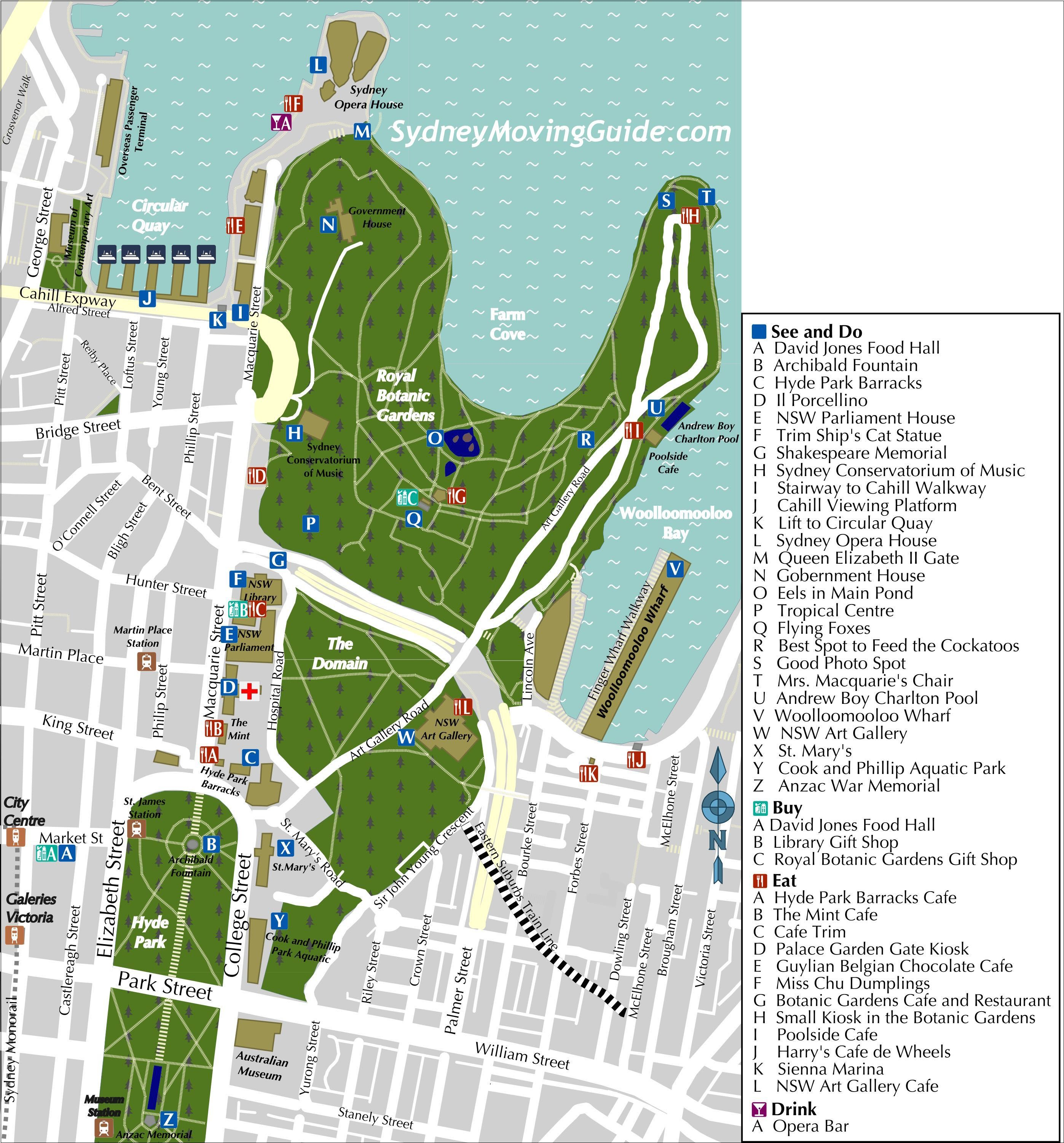 Things To Do In Sydney Free Sydney Walking Tour – Australia Road Map Pdf