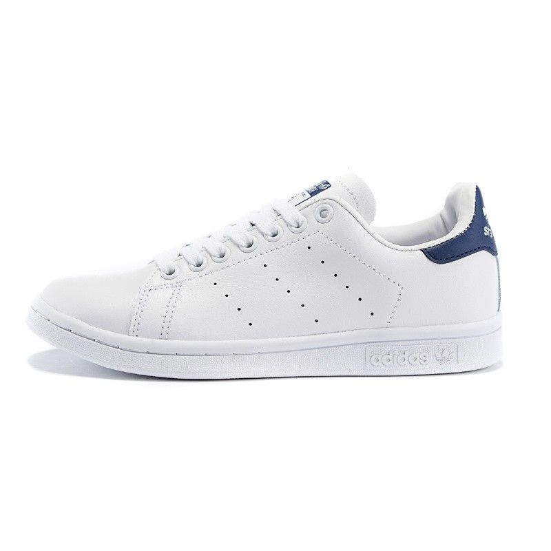 Adidas Originals Stan Smith Mens Shoes Neo WhiteCobalt Navy Blue D67362