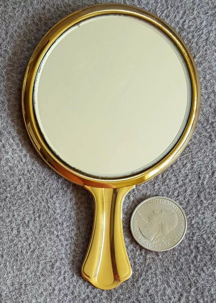 S vanity mirrors in presentation box mid century in
