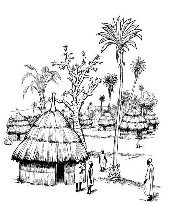 Part Of Our Africa Virtual Coloring Book Print It Yourself By