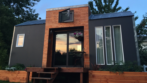 A bright and modern tiny house designed with high style and functionality its currently available for sale in portland for 35000