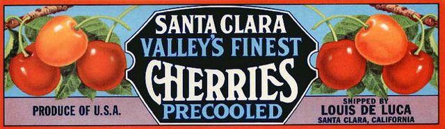 **AN ORIGINAL FRUITCRATE LABEL** MARION Vintage Salem Oregon Cherry Crate Label
