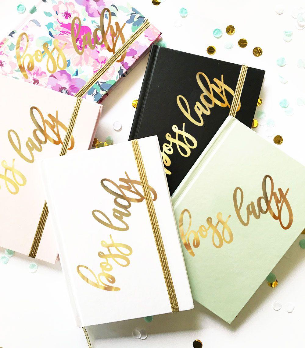 Boss lady journal boss gifts offices girl boss gift