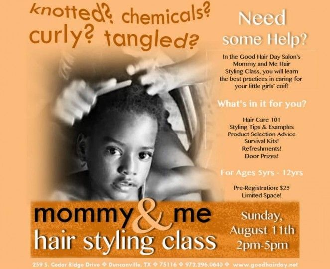 Mommy And Me Hair Styling Class Hair Styles My Hair Mommy And Me