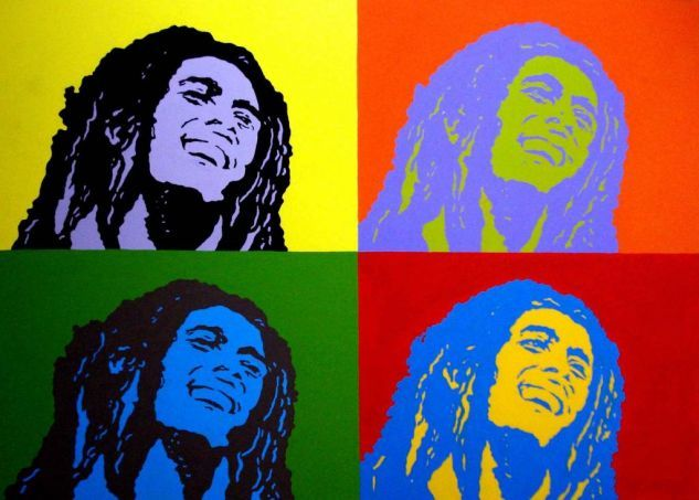 **Bob Marley** ►►More fantastic collages, pictures, music and videos of *Robert Nesta Marley* on: https://de.pinterest.com/ReggaeHeart/ ©Betto Villacis