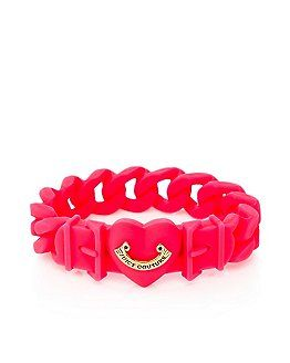 Jelly Banner Heart Bracelet