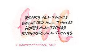 True Love, He Says.  Like 1 Corinthians 13