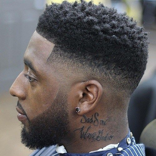 50 Stylish Fade Haircuts For Black Men Ron S Hair