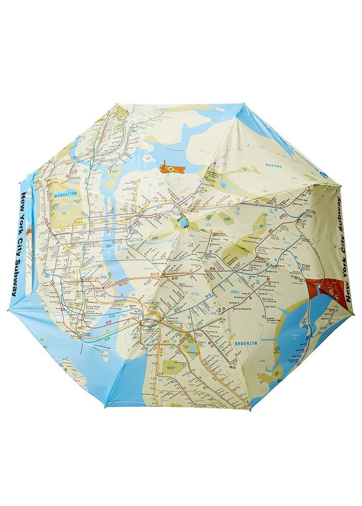 Nyc Subway Map Ebay.Leighton Umbrellas Auto New York City Nyc Subway Map 12 Mta