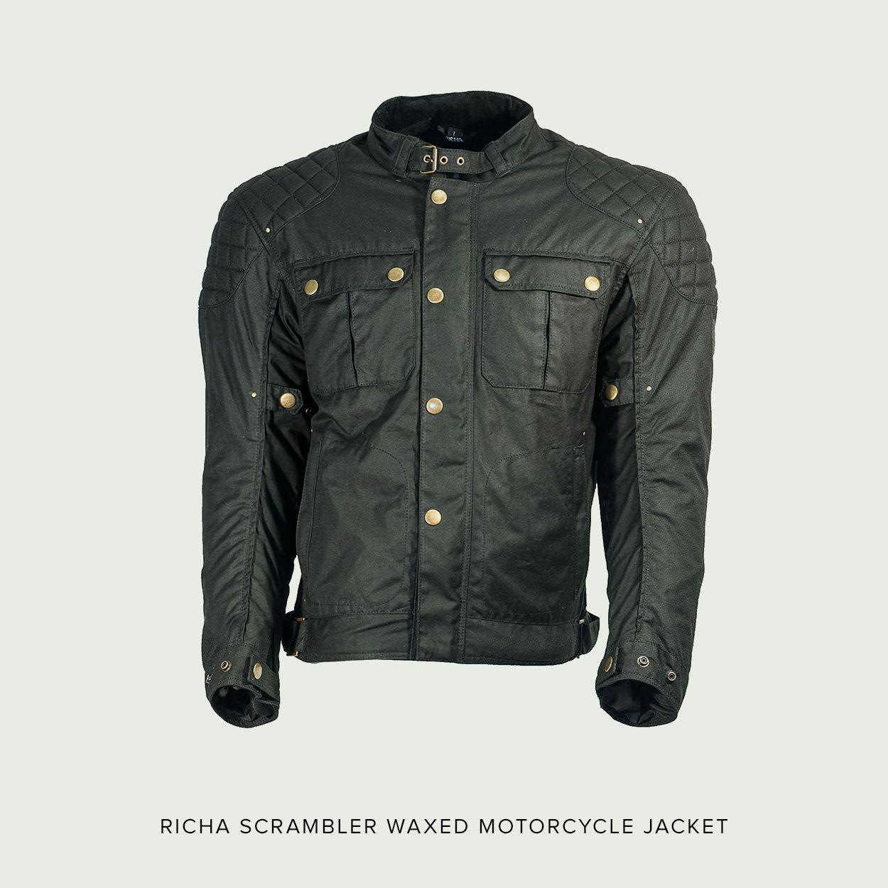Belstaff Mojave Jacket Black Aged Leather