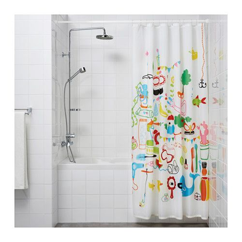Botaren Shower Curtain Tension Rod White Shower Curtain Rods