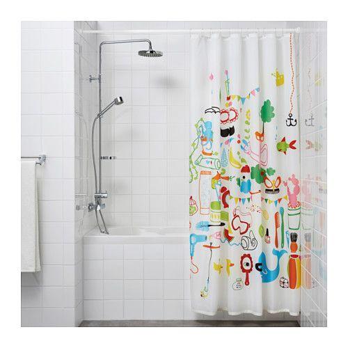 BOTAREN Shower Curtain Rod, White