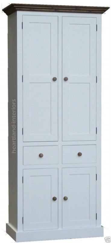 Lovely Solid Wood Linen Cabinet   Foter