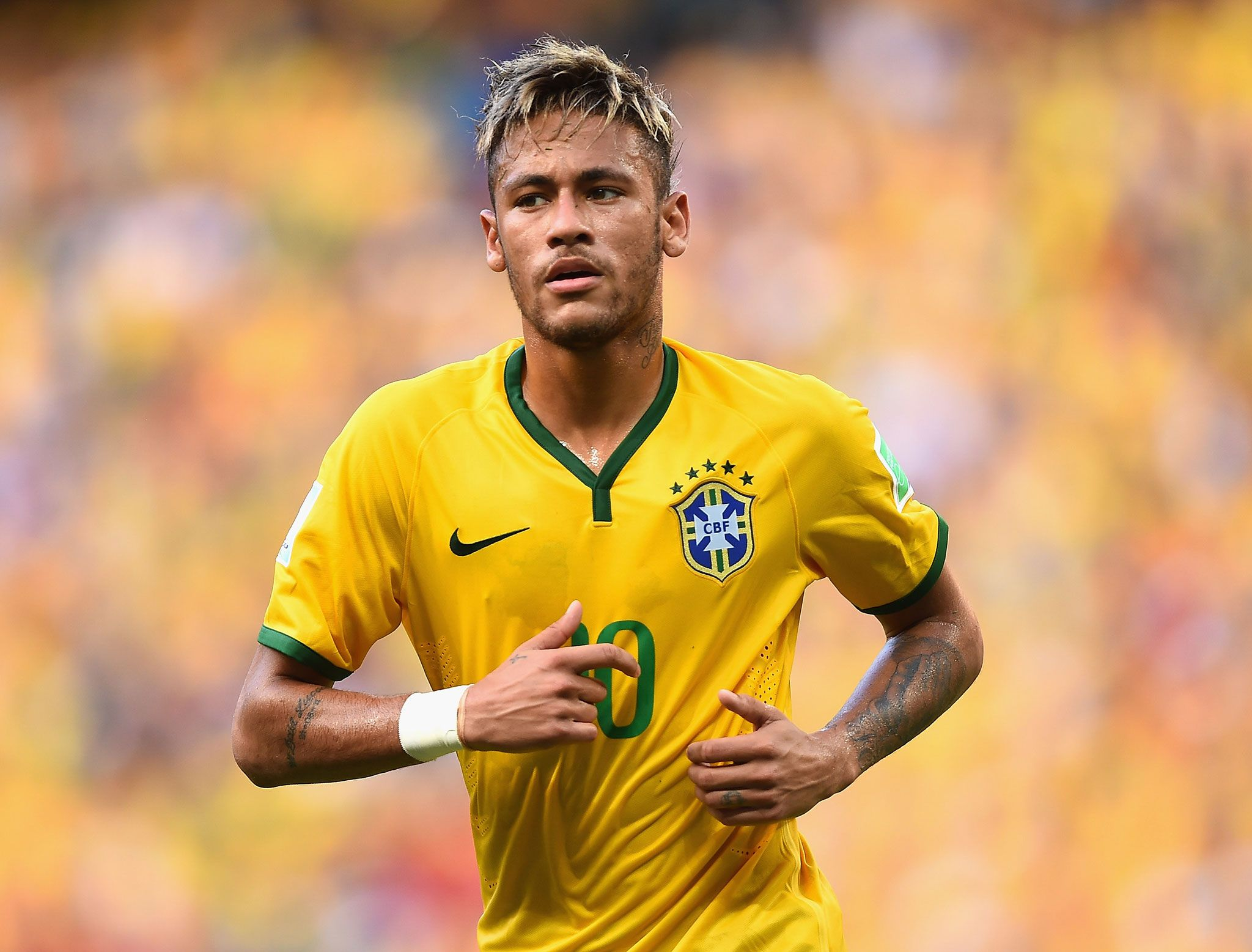 World Cup 2014: Neymar is Brazil's golden boy but who is ... Neymar Jr Brazil 2014