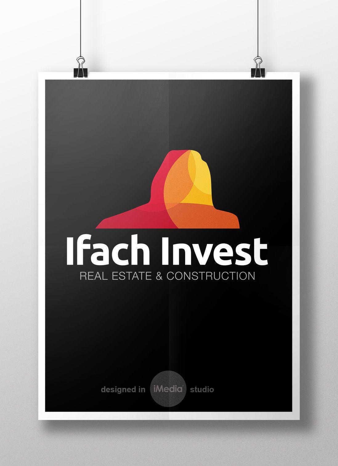Dise O Logo Para La Inmobiliaria Ifach Invest Calpe Costa  # Muebles Pascual Rius