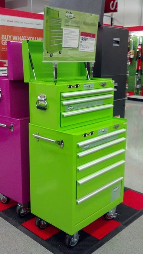 Viper Tool Chest It Comes In Pink Or Green
