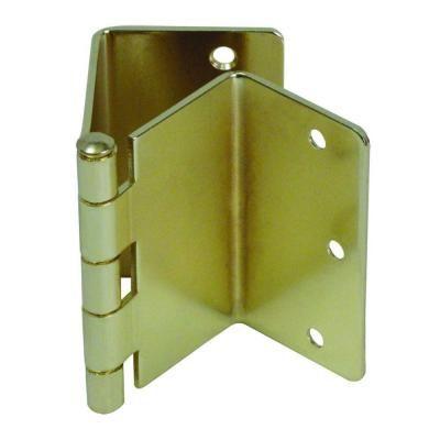 Healthsmart Brass Expandable Door Hinge Pair 640 2006 0000 Door