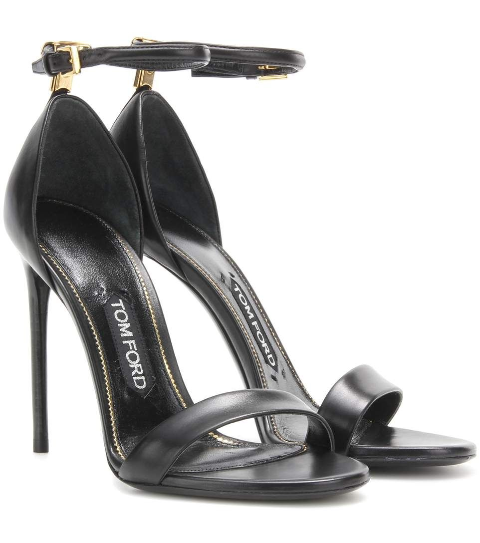 d87ff6687 TOM FORD Embellished Leather Sandals. #tomford #shoes #sandals Sapatos,  Sandálias De