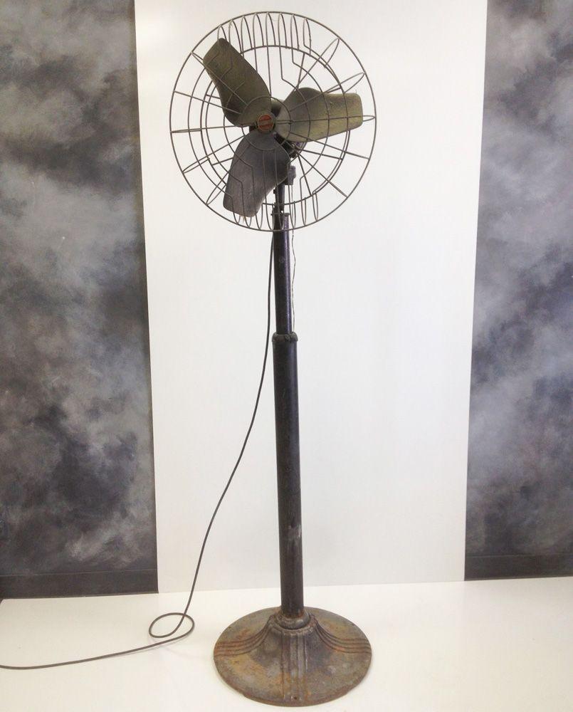 1930's Airmaster Industrial Floor Fan   ModernMade LLC   Moonlight