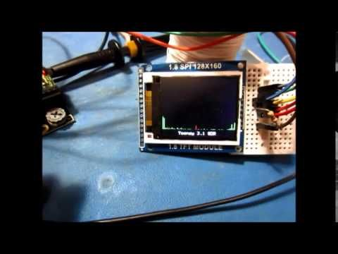 Demonstration of audio processing with the Teensy 3 1