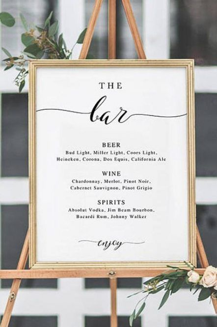 Wedding reception cocktail hour drinks 63+ ideas #weddingmenuideas