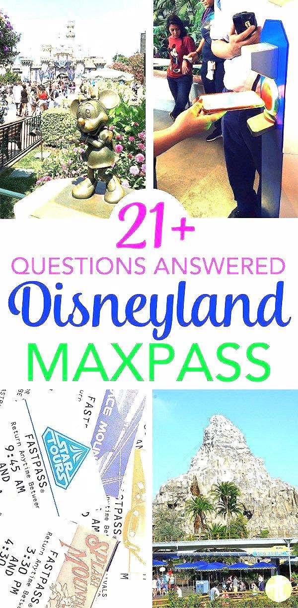 Photo of Top 21 Disneyland MaxPass Questions Answered – Trips With Tykes