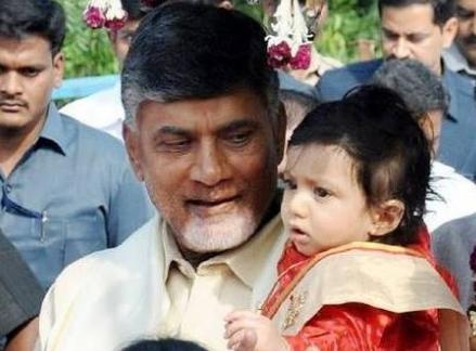Chandrababu Naidu's 3YearOld Grandson is 6 Times Richer