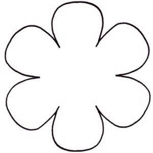 6 Petal Flower Template Bing Images Flower Templates Printable Free Flower Templates Printable Flower Template