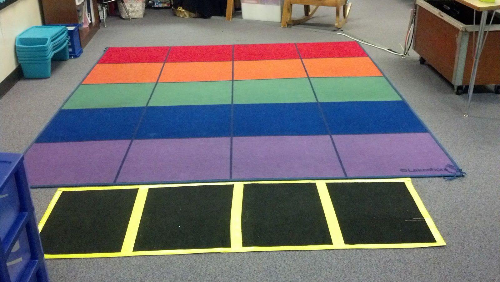 Elementary School Clroom Rug