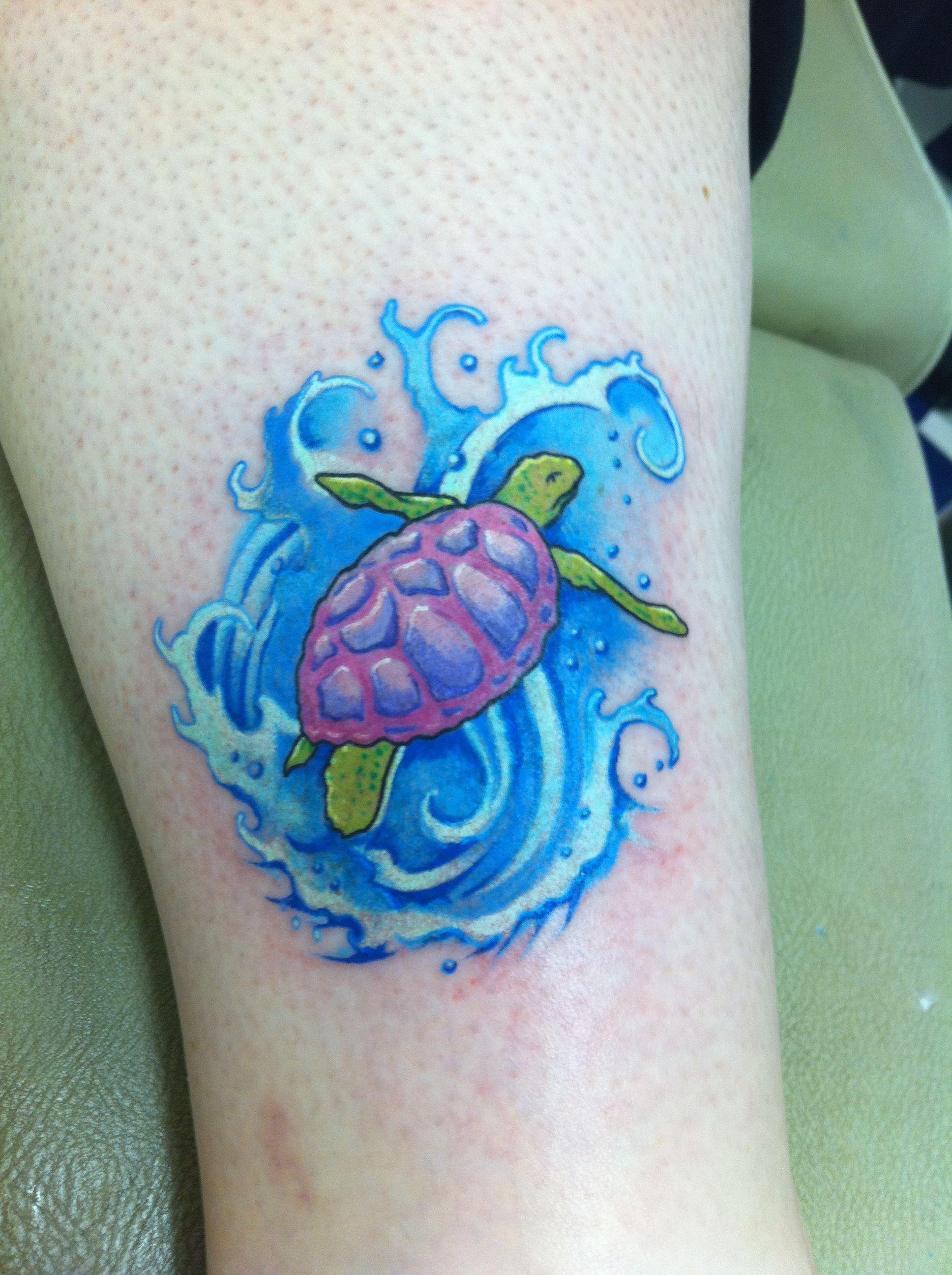 turtle tattoos paulberkey tattoos by paulberkey pinterest sea turtles colors and turtles. Black Bedroom Furniture Sets. Home Design Ideas