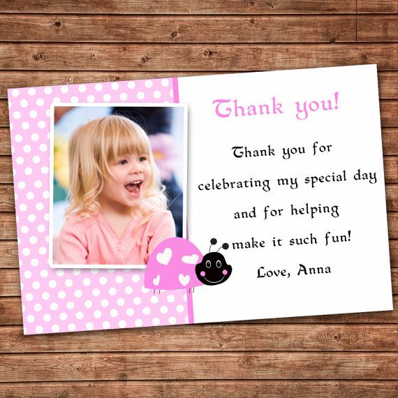 Personalized Birthday Thank You Card or Baby Shower Owl Girl – Personalized Birthday Thank You Cards